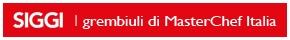 Siggi: i grembiuli di MasterChef Italia
